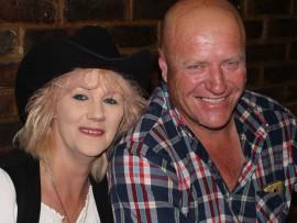Erika SA Country Meisie with her husband, Johan Tolmay. Photo: Kayla van Petegem