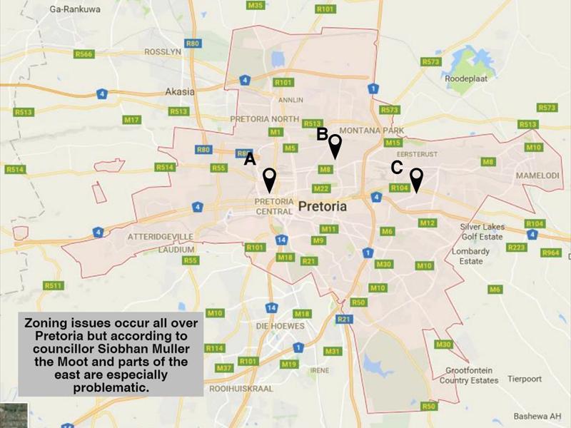Tshwane targets illegal land use Rekord Moot