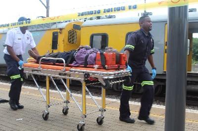 Three killed in Pretoria train crash