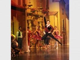 Principal dancer Michael Revie makes ballet look incredibly easy.