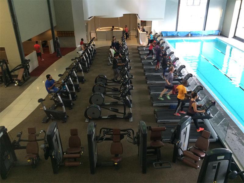 Gym company launches its platinum spa randburg sun