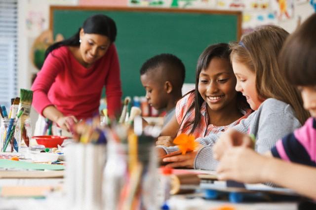 Teachers are often overlooked when it comes to the pressures of school. Image by © JLP/Jose L. Pelaez/Corbis