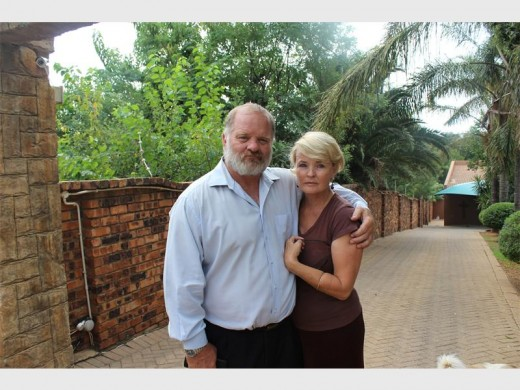 Johan and Eurika van Zyl are concerned about their safety, after their son was shot in the stomach during a housebreaking.