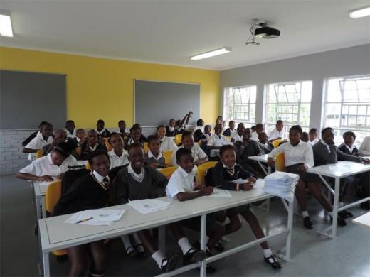 Pupils study inside a classroom. File photo