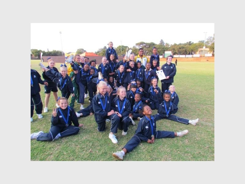 The Curro Aurora cheerleading team to compete at the national championships competition. Photo supplied.