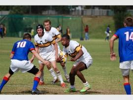 Martin Thoka, Rand Park High School fly-half, has made it to the Bidvest Golden Lions Academy Week team.