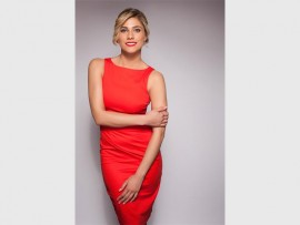 Michaella Russell acts as Charle Holmes in the popular soap Isidingo. Photo Supplied.