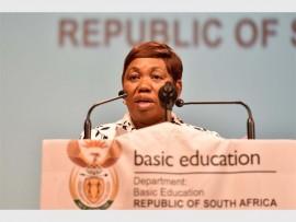 Minister of Basic Education, Angie Motshekga. Picture: Neil McCartney/The Citizen.