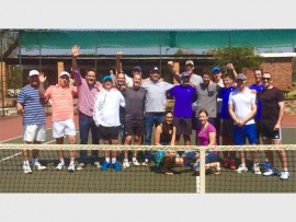 The Randburg Tennis Club men's A and B teams won their respective leagues without any loss.  Photo supplied