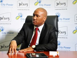 City Power managing director, Sicelo Xulu warns of fraudsters posing as the entity's employees. Photo: File.