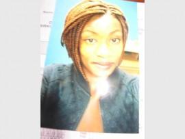 Tebogo Mmapula Choeu was last seen on 18 October.