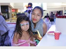 Cindy-Lee Minnaar with her daughter Layyah Rasdien.