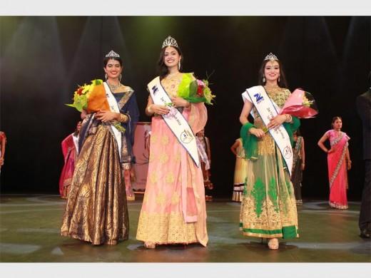 WINNERS: Second princess, Aishwarya Bedesy; Zee TV Miss South Africa 2016, Supriya Soorju and first princess, Alisha Authbehari.