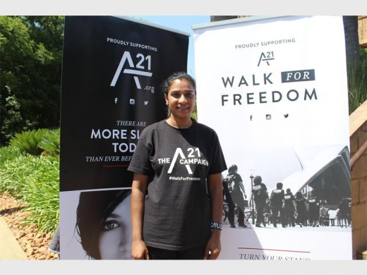 A21 A-team Jozi volunteer Mandy Murugan encourages communities to work with them in order to assist victims of human trafficking.