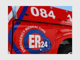 ER24 paramedics administered several advanced life support interventions after finding a biker lying on the side of the road in Northriding. Photo: File.