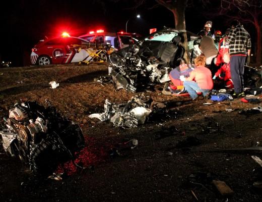 3 children dead after tree slices through car   Middelburg