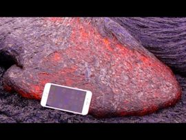 Don't drop your iPhone 6S in hot lava!