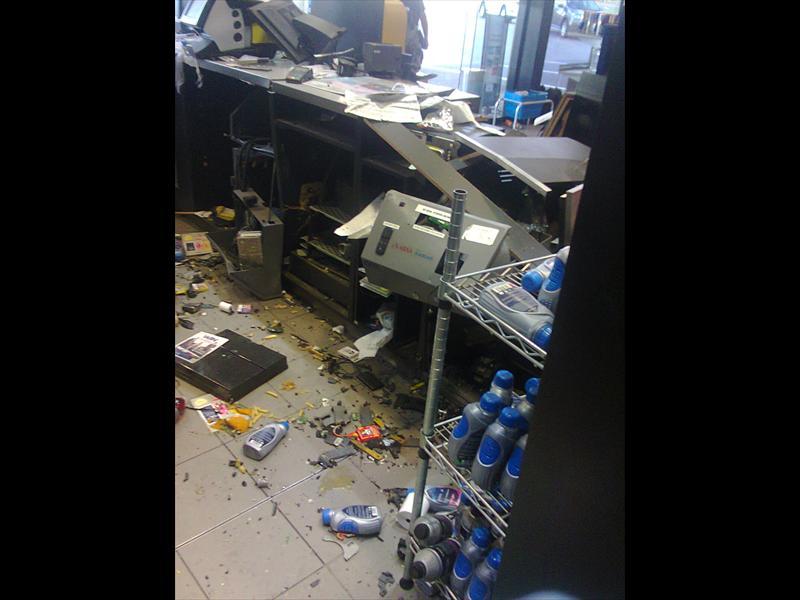 Sasol Garage S Safe Bombed Ridge Times