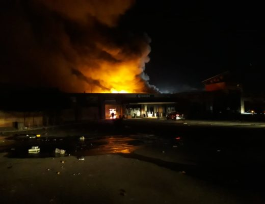 UPDATE: Protest] Protesters burn down Mall@eMba   Ridge Times