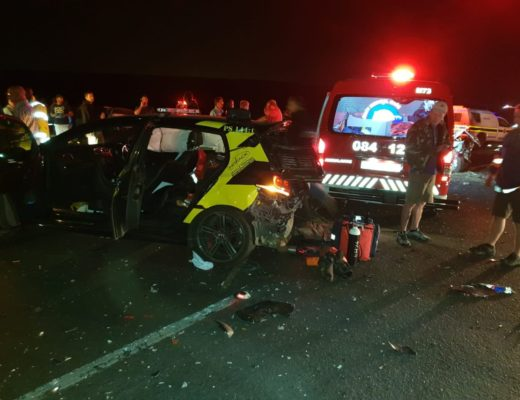 UPDATE) Critically injured ER24 paramedic transferred to