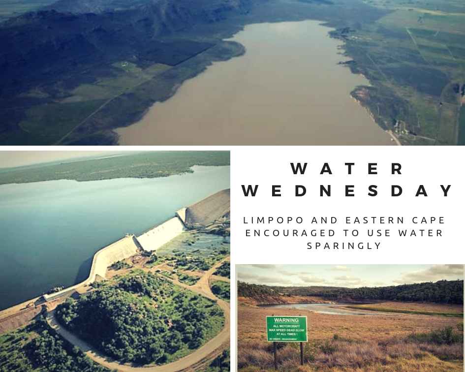 Water Wednesday: Limpopo and the Eastern Cape encouraged to