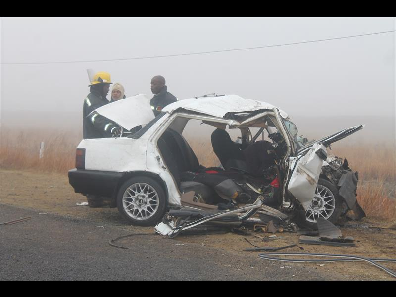 Multiple cars involved in accident, two die - Standerton
