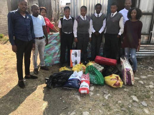 Khula-Sakhile Secondary School learner and his sisters lose