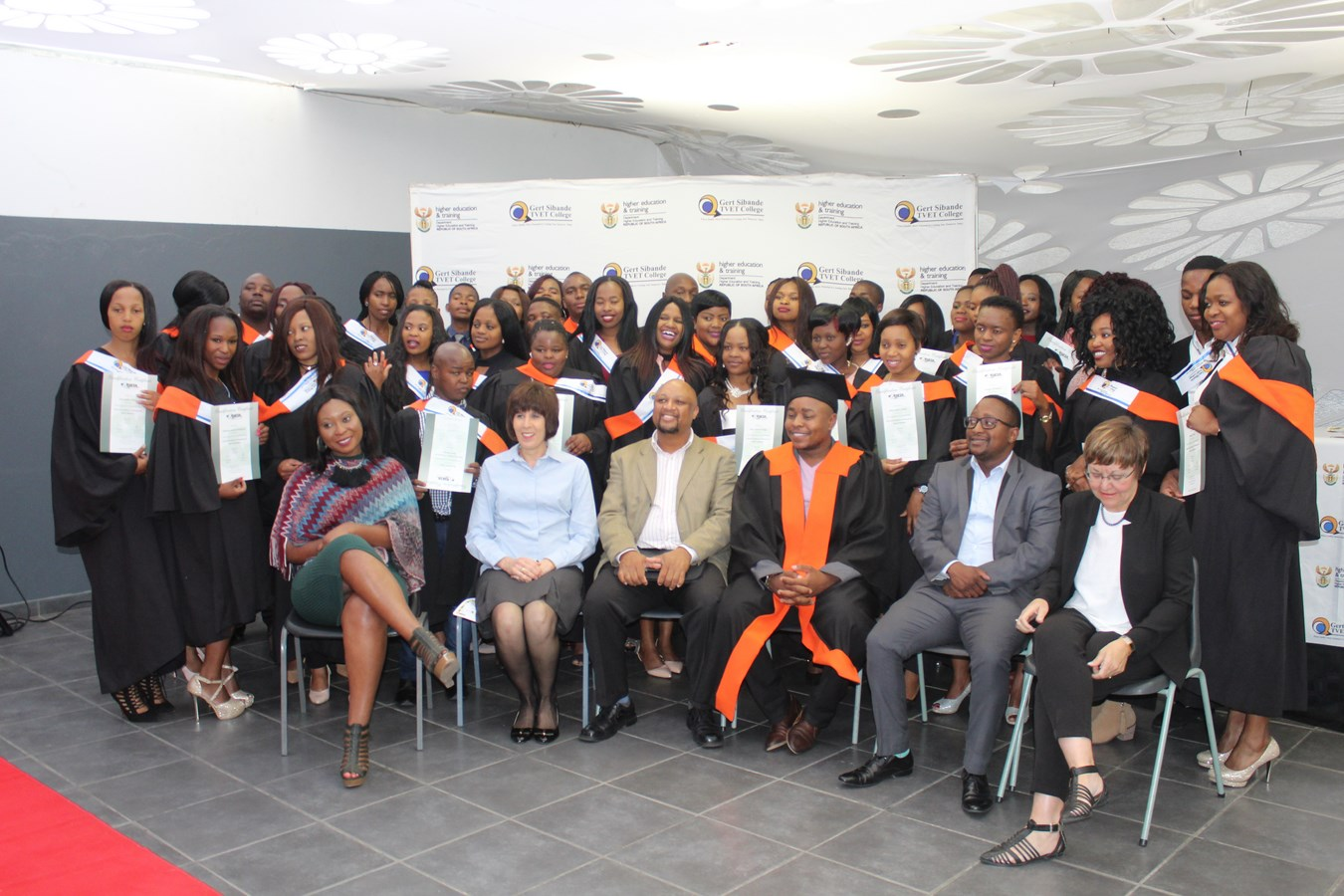 Graduates of Gert Sibande College
