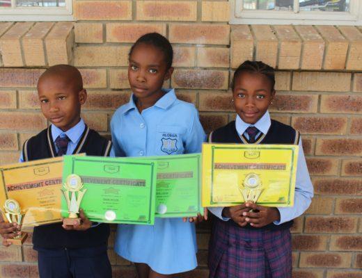 Hlobisa Primary School learners