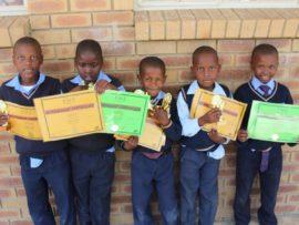Hlobisa Primary School honors learners