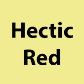 Hectic Red